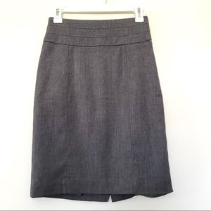 H&M Gray Sophisticated Pencil Skirt 4